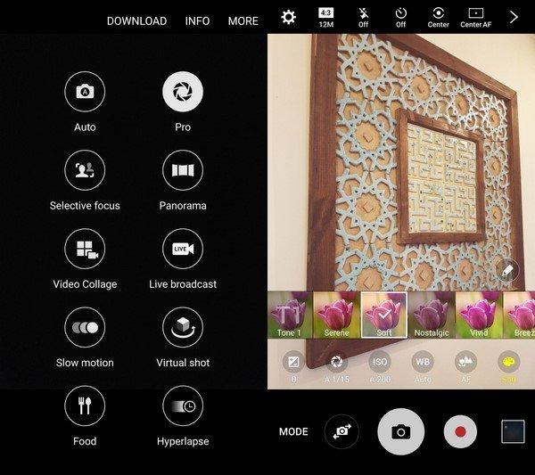 Galaxy S7 Cam