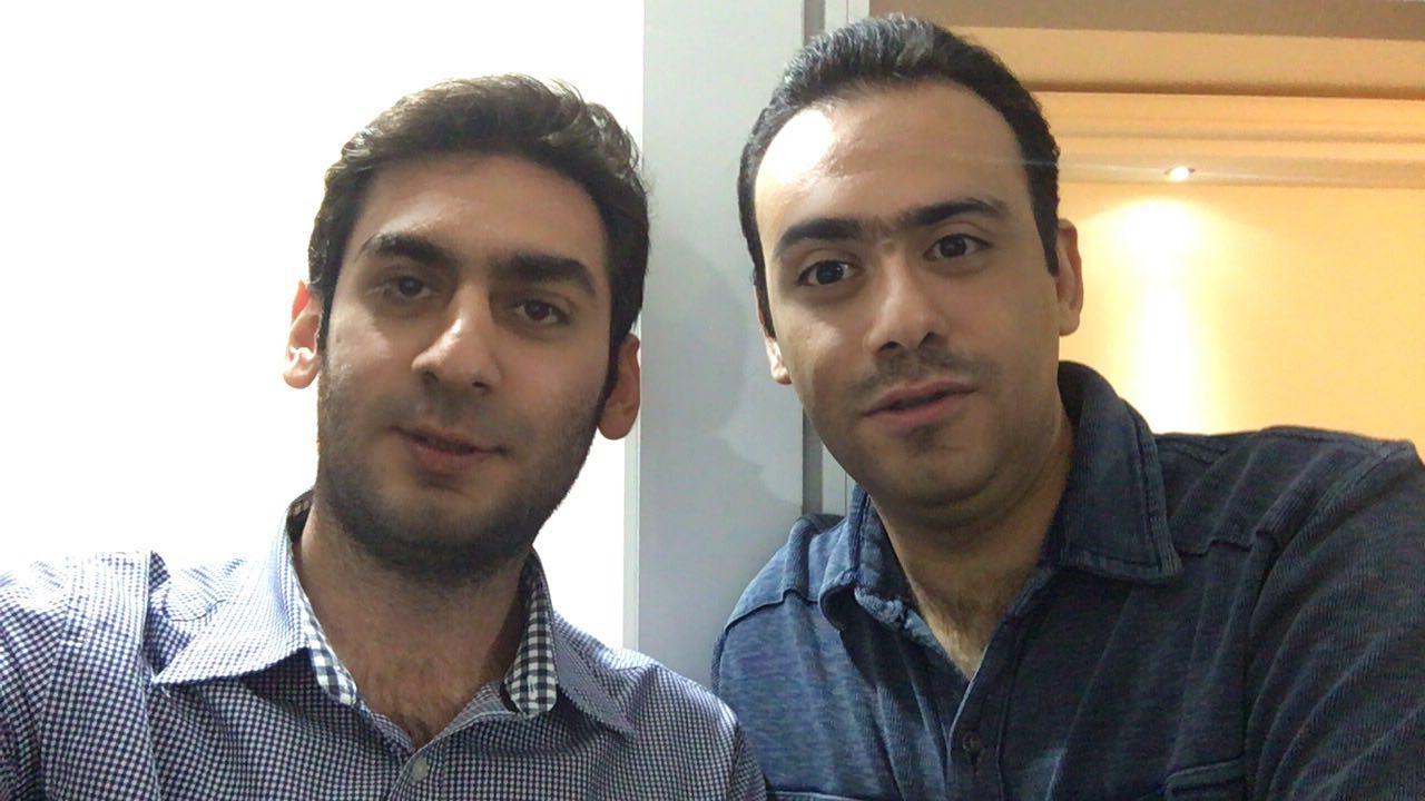 فیس سواپ من و رضا مقدری :دی