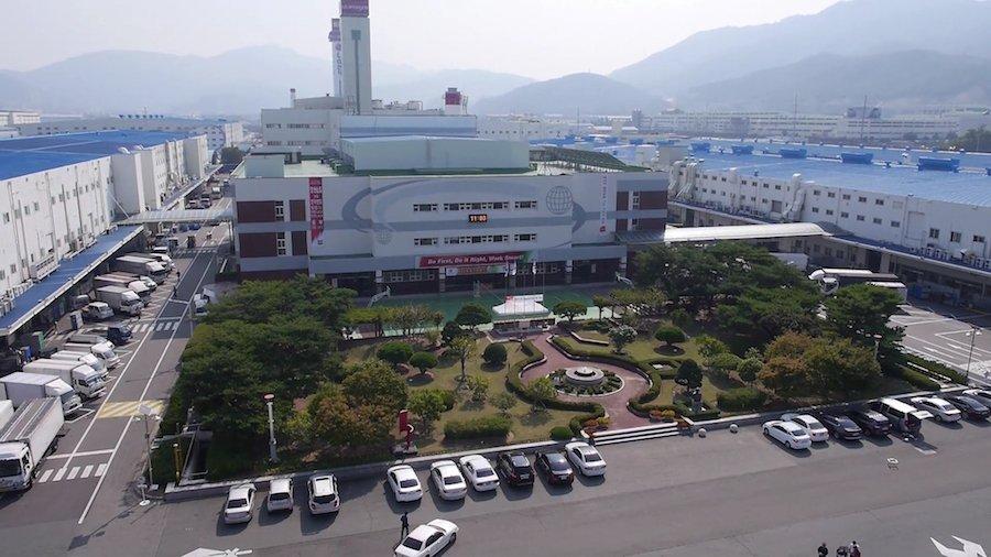 2. LG Changwon Factory