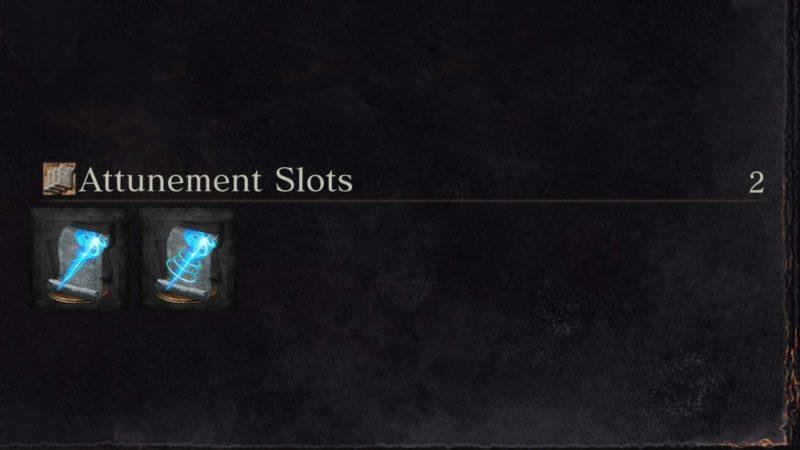 Insufficient Attunement Slots