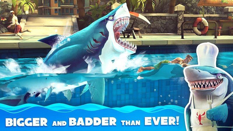 Hungry-Shark Evolution