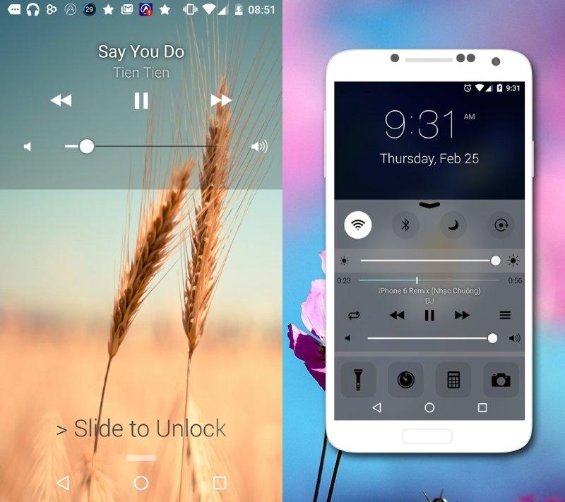 Lockscreen iOS9