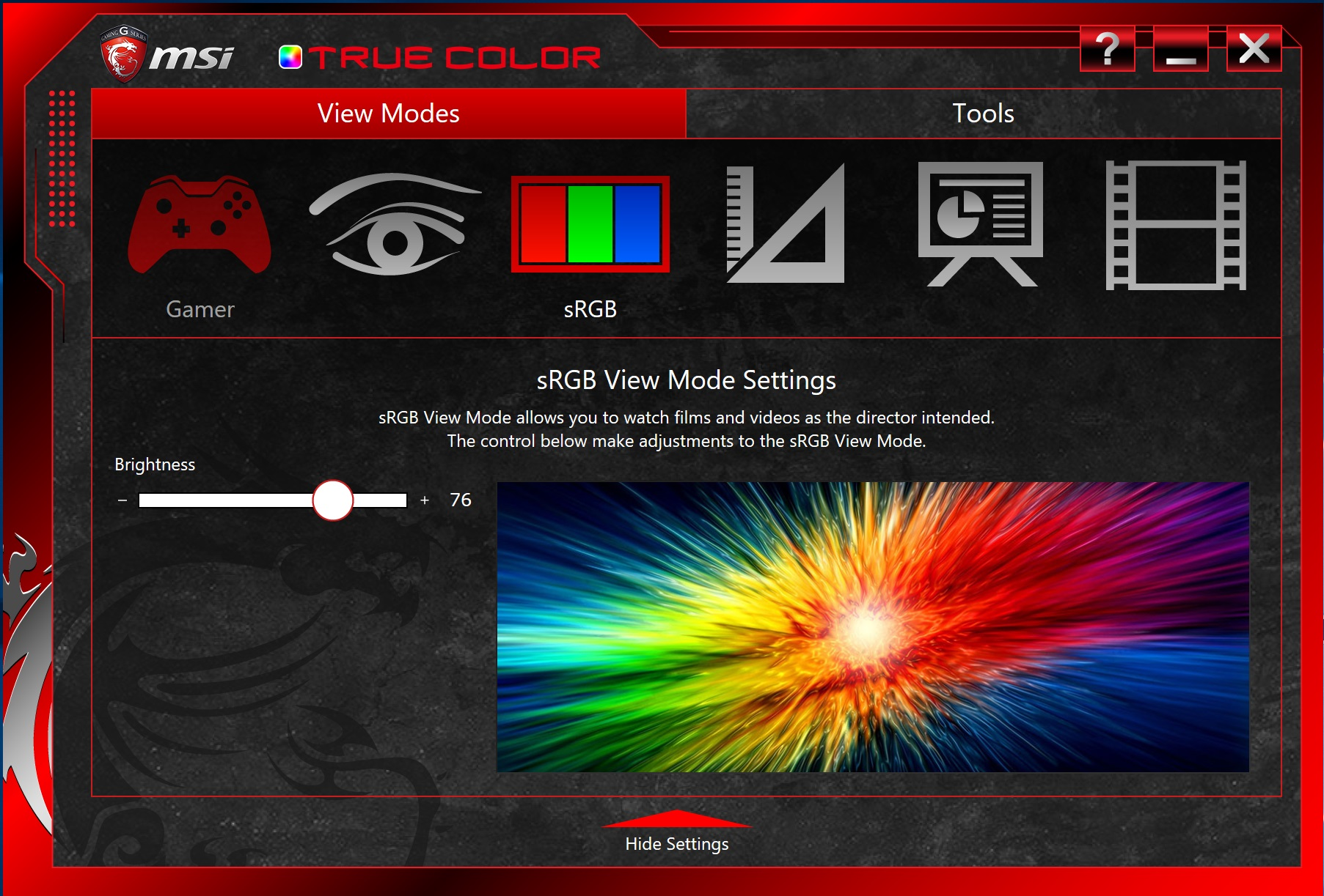 MSI TrueColor