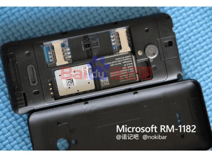 Prototype-of-Microsoft-feature-phone-model-RM-11824