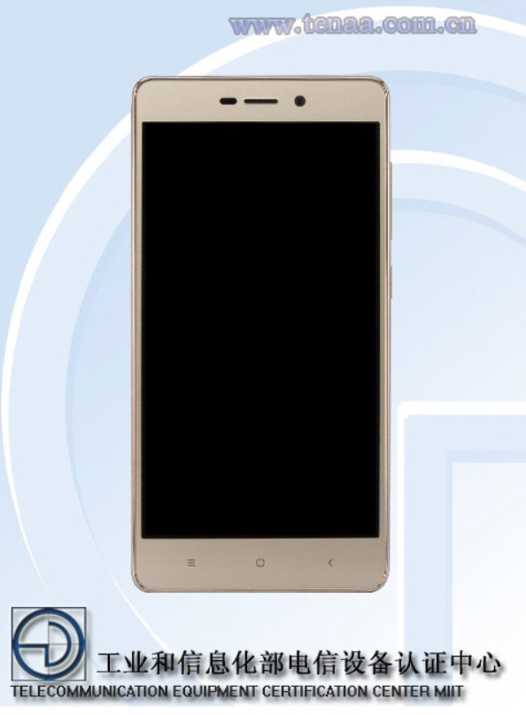 The-Xiaomi-Redmi-3A-is-certified-in-China-by-TENAA