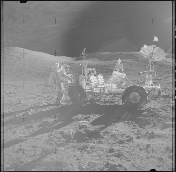 کاوشگر ماه آپولو 17، دسامبر 1972.