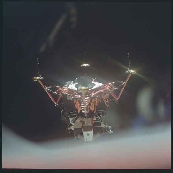 ماه نشین آپولو 11، جولای 1969.