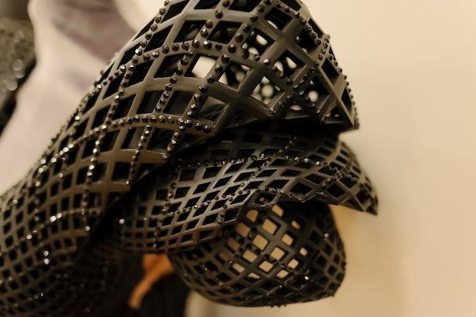 قسمتی از یک لباس پرینت شده