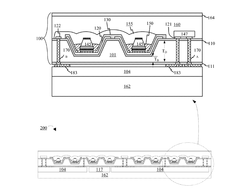 Apple-files-patent-application-for-a-flexible-wearable-display