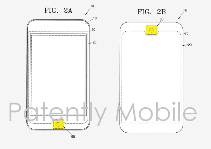 Samsung-finger-scanner-patents