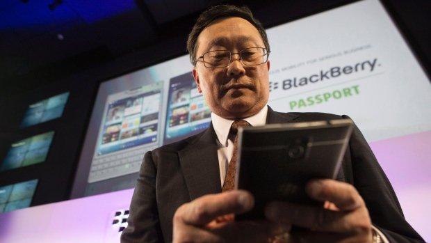 جان چن، مدیر عامل بلک بری