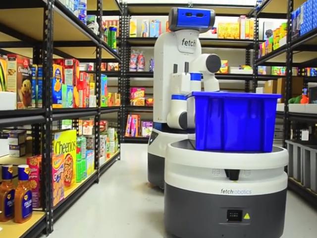 靈巧取物、快速運送可兼顧!Fetch Robotics 發表能「協力合作」的倉儲搬運機器人組合 2