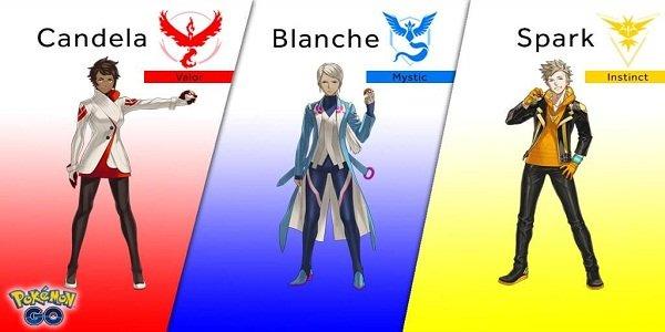 Pokémon-GO-team-leaders