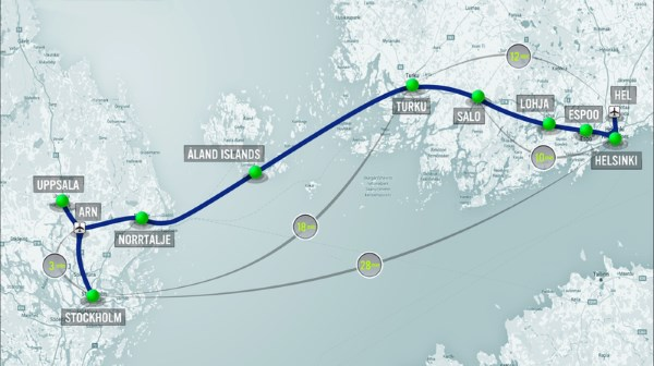 hyperloop one map