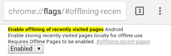 Chrome-flags-Android-recently-visited-pages