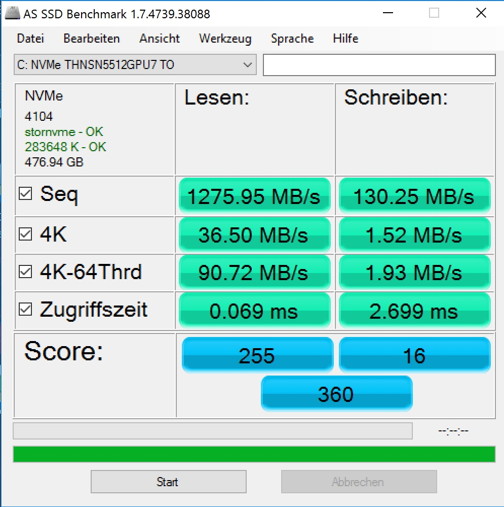 Digiato Review Asus Transformer 3 Pro AS SSD