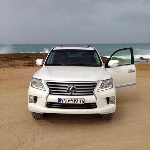 LX570 in iran