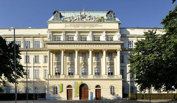 Main building of Vienna University of Technology / Vienna, Karlsplatz 13