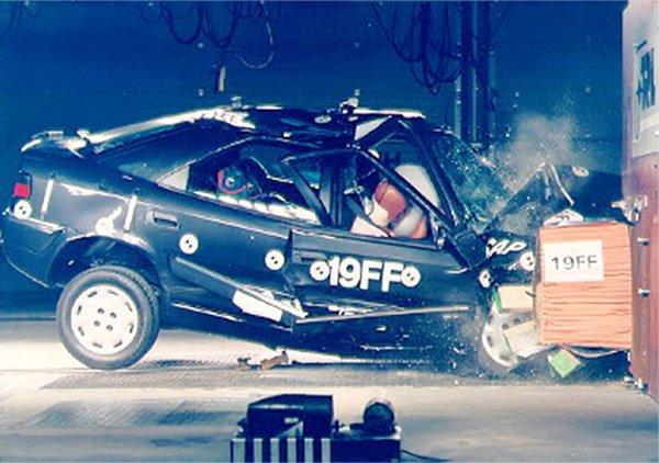Xantia Crash Test 2