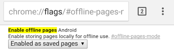 chrome-flags-android-offline-pages-enable