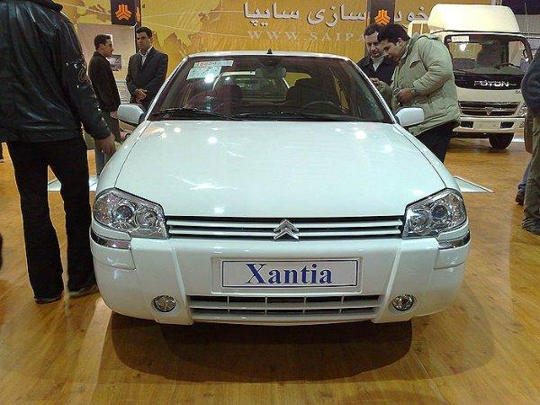 فیس لیفتی که در ایران بر روی زانتیا انجام شد