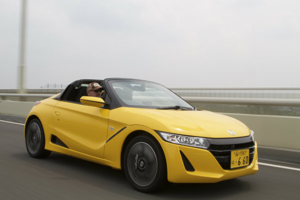 Honda-S660-Roadster-front-three-quarter-in-motion