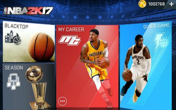 NBA 2K17-mobile