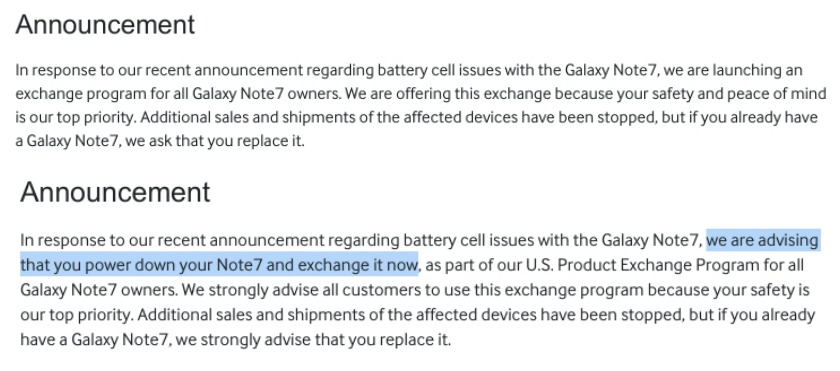 Samsung-Galaxy-Note-7-recall-page-before-and-after