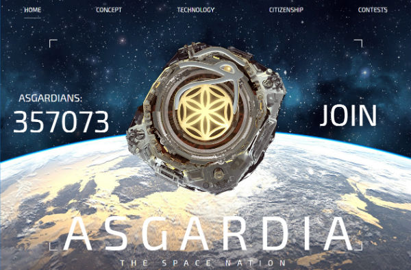 Asgardia-Website