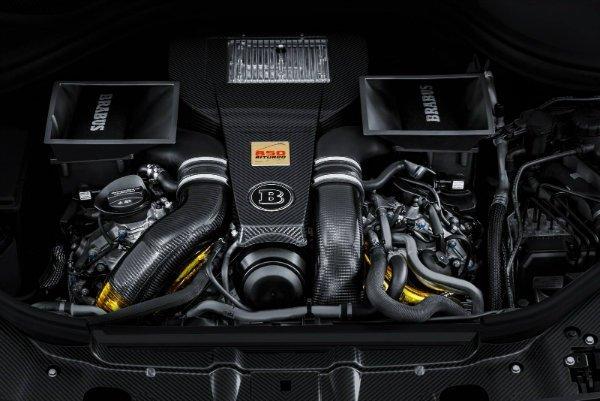 نمایی از موتور برابوس 850 XL