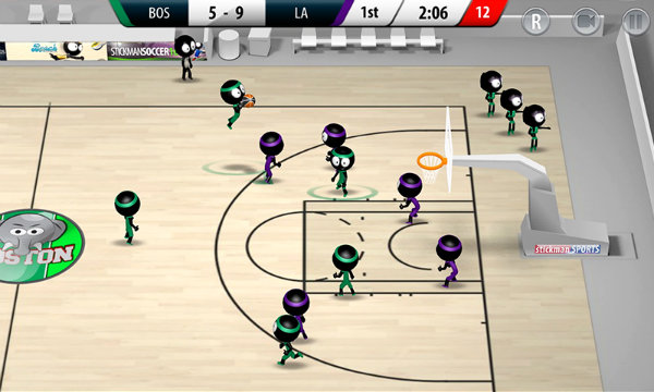 Stickman Basketball 2017 - game