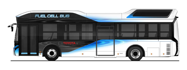 Toyota to Start Sales of Fuel Cell Buses under the Toyota Brand from Early 2017 (2)