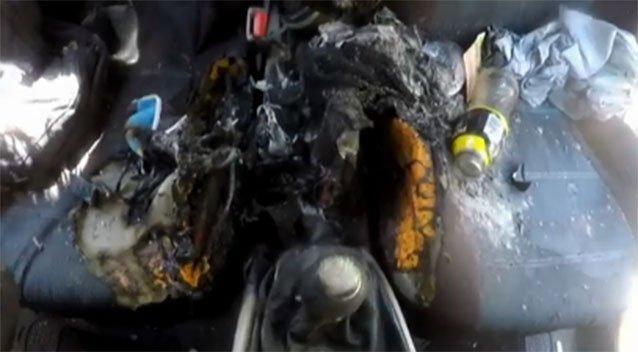 iPhone-7-catches-fire-burns-a-car
