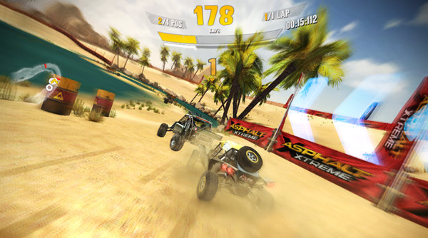 Asphalt Xtreme - windows phone
