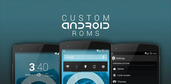 Custom-Android-ROMs-w600