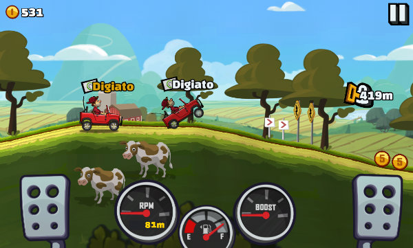 Hill Climb Racing 2 - android