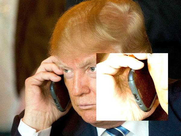 موبایل ترامپ