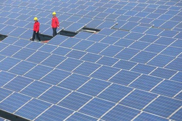 چین هم اکنون بزرگ ترین تولید کننده انرژی خورشیدی در جهان است
