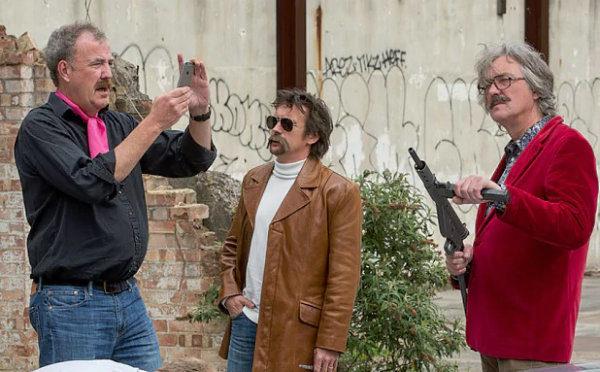 Jeremy Clarkson Richard Hammond and James May 600x372 مشکلات سلامتی جرمی کلارکسون؛ مانعی تازه برای ضبط فصل چهارم گرندتور اخبار IT