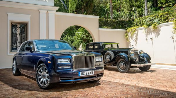 rolls royce phantom history in pictures - معرفی نسل هشتم رولزرویس فانتوم