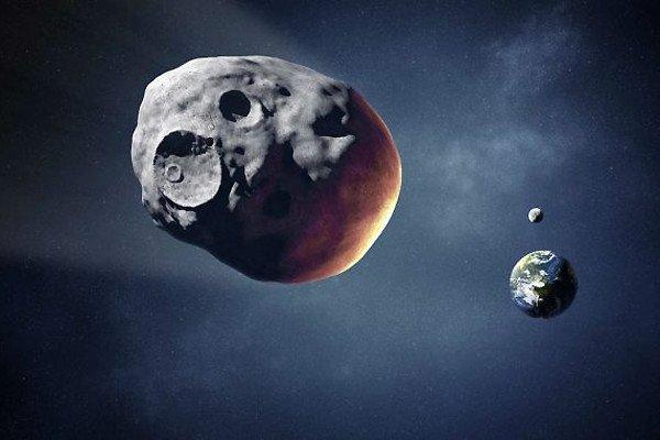 سیارکی که می توانست یک شهر را نابود کند، با فاصله نزدیکی از کنار زمین رد شد