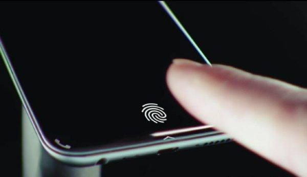 سنسور اثر انگشت زیر نمایشگر