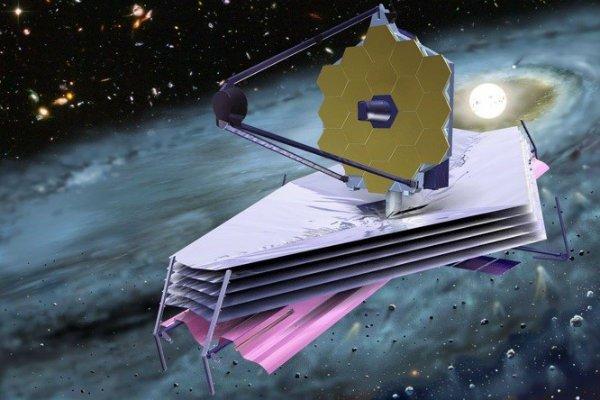 تلسکوپ فضایی جیمز وب - عکس از گوگل