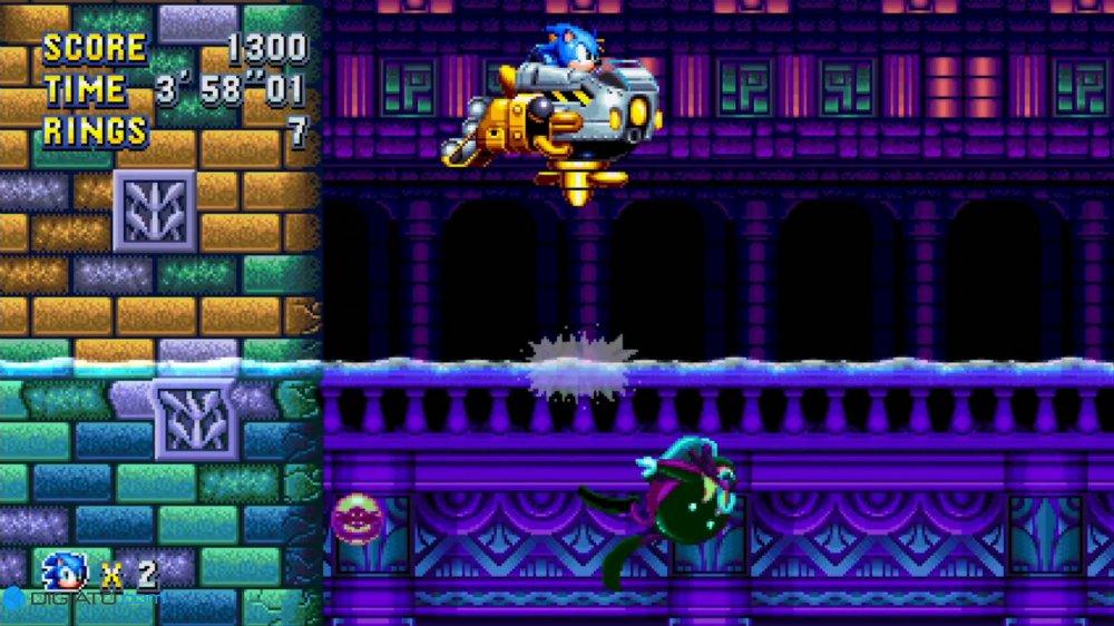 بررسی بازی Sonic Mania