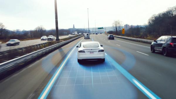 خودروی بدون راننده بزرگراه آمریکا فاکسکان