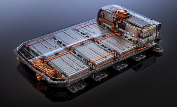 2017 Chevrolet Bolt EV battery system