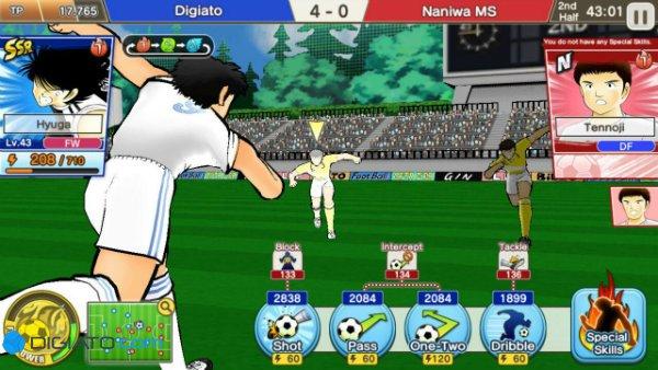Captain Tsubasa Dream Team mobile game w600 بهترین بازیهای موبایل که از روی انیمههای ژاپنی ساخته شدهاند اخبار IT