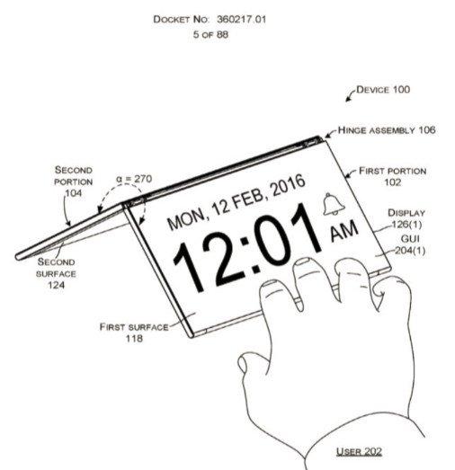 پتنت ثبت شده توسط مایکروسافت
