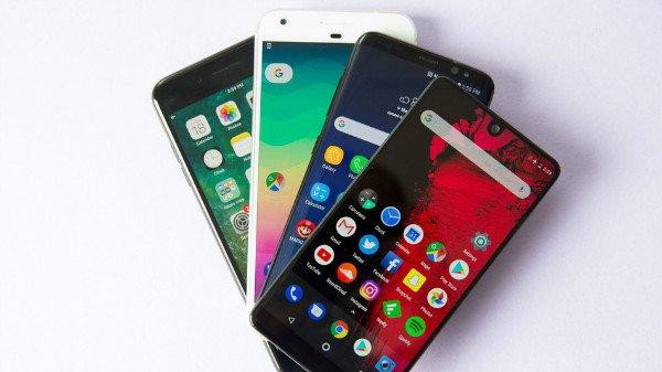 موبایلهای اندرویدی سال ۲۰۱۸