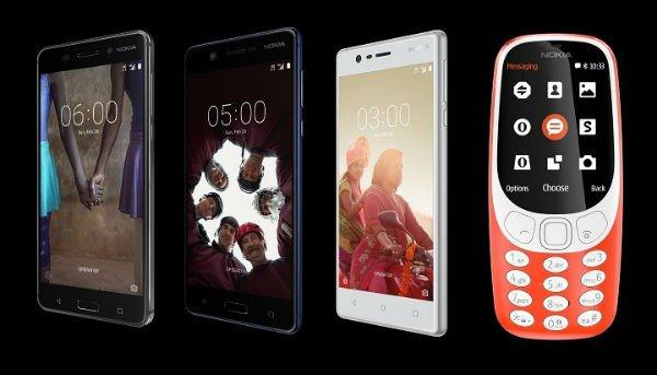 موبایل های نوکیا